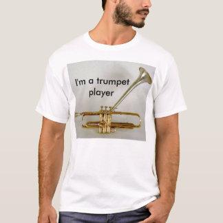 Camiseta diz-trunfo, eu sou um jogador de trombeta