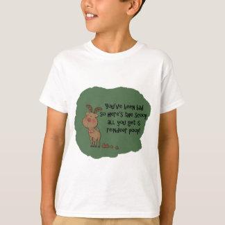 Camiseta Dizer engraçado impertinente do presente do