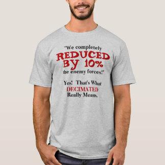 Camiseta Dizimado.  A definição REAL