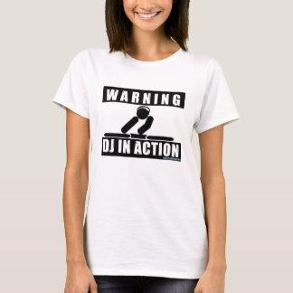 Camiseta DJ na ação