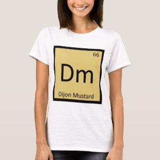 Camiseta Dm - Símbolo da mesa periódica da química da