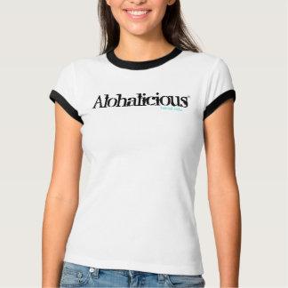Camiseta do Alohalicious das mulheres
