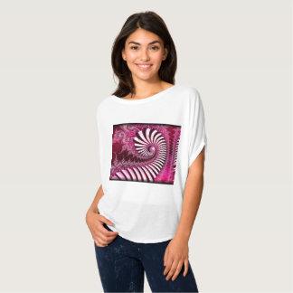 """Camiseta Do """"arte feita sob encomenda do Fractal do"""