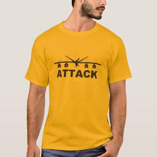 Camiseta Do ataque predador da ceifeira MQ-9 aviões 2nãos