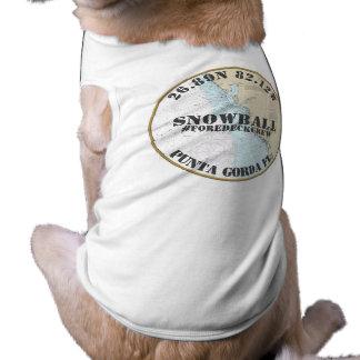 Camiseta Do barqueiro náutico conhecido do cão do seu cão o