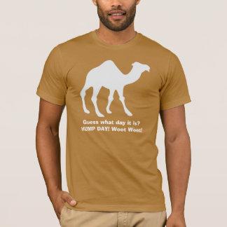 Camiseta do camelo do dia de corcunda