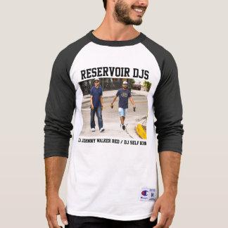 """Camiseta Do """"camiseta do Raglan de DJs reservatório"""""""