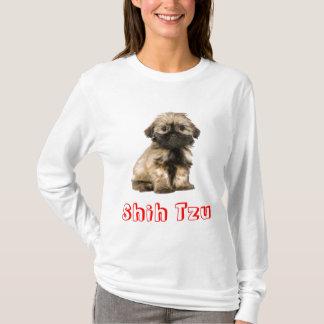 Camiseta do cão de filhote de cachorro de Shih Tzu
