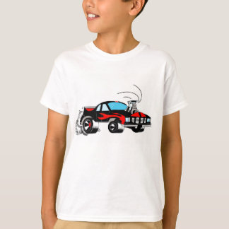 Camiseta do carro do músculo