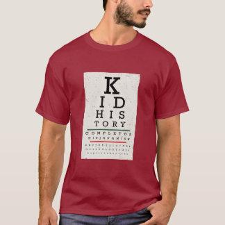 """Camiseta Do """"carta de olho da história miúdo"""""""