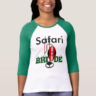 Camiseta do casamento de Hakuna Matata do safari