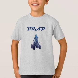 Camiseta do cavaleiro do veículo com rodas dos