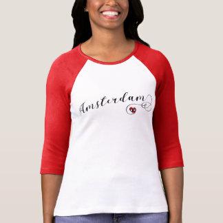 Camiseta do coração de Amsterdão, Dutch de Holland