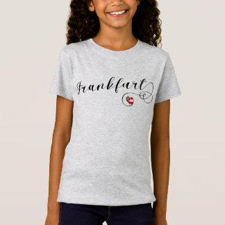 Camiseta do coração de Francoforte, Alemanha