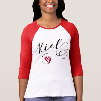 Camiseta do coração de Kiel, Alemanha