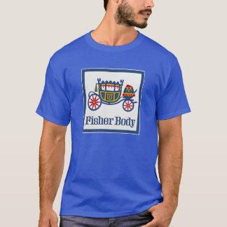 Camiseta do corpo de Fisher