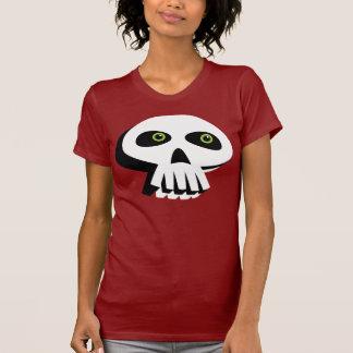 Camiseta do crânio