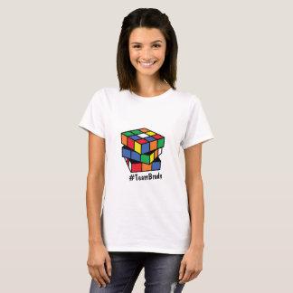 Camiseta do cubo do jogo