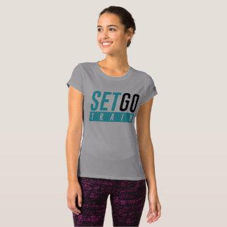 Camiseta Do desempenho novo do equilíbrio das mulheres