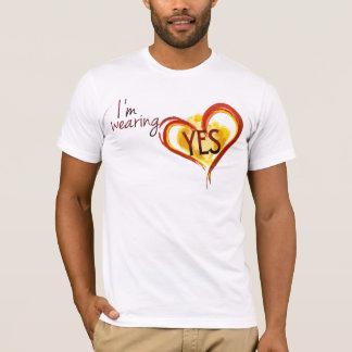 Camiseta Do desgaste t-shirt SIM