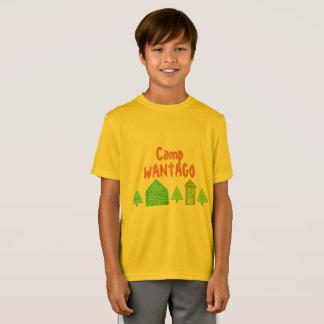 """Camiseta Do """"design de Wantago acampamento"""" para adultos"""