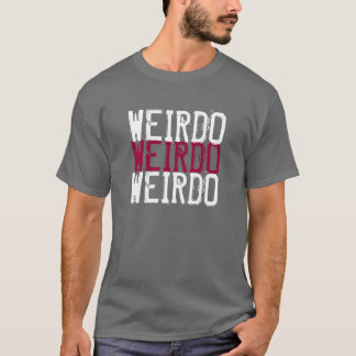 Camiseta do esquisito