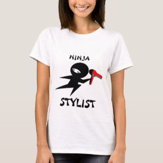 Camiseta do estilista de Ninja