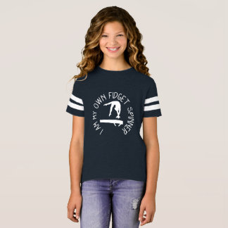 Camiseta do feixe de equilíbrio da ginástica do