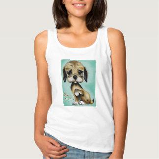 Camiseta do filhote de cachorro
