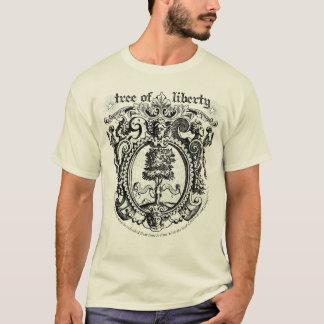 Camiseta do gráfico da árvore da liberdade