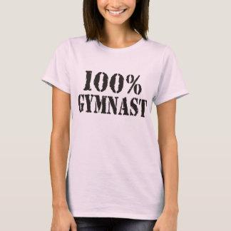 Camiseta Do Gymnast correia 100% de espaguetes