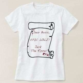 Camiseta Do inferno (com lolz)