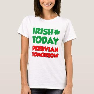 Camiseta Do irlandês Peruvian hoje amanhã