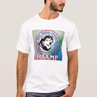 Camiseta do logotipo de Chaamp