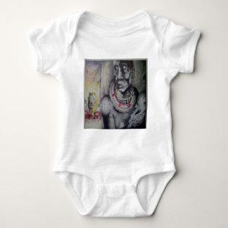 Camiseta do Masai de Hakuna Matata do bebê