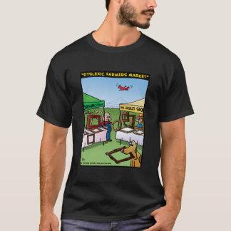 """Camiseta Do """"mercado dos fazendeiros Dyslexic """""""