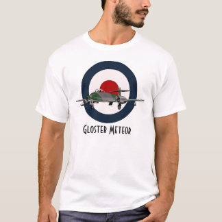 Camiseta do meteoro de Gloster