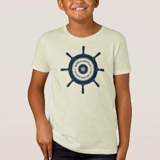 Camiseta Do miúdo corajoso da estrela do crachá de
