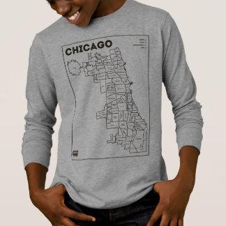 Camiseta Do miúdo corajoso da estrela do mapa das capas de