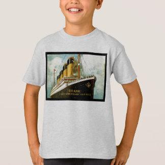 Camiseta Do miúdo titânico do aniversário do RMS T o 100th