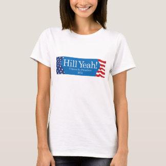 Camiseta Do monte t-shirt da campanha yeah