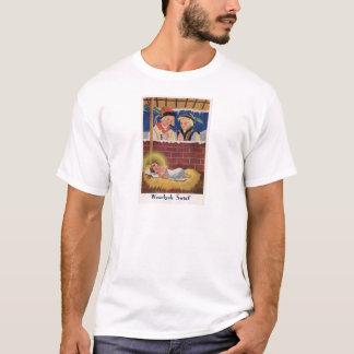 Camiseta Do Natal polonês de Wesołyeh Świąt do vintage arte