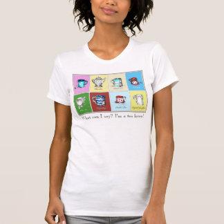 """Camiseta Do """"O t-shirt cabido das mulheres do amante chá"""","""