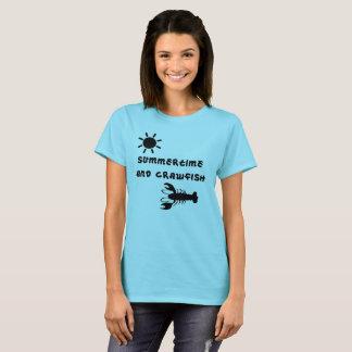 """Camiseta Do """"o t-shirt da mulher verão e dos lagostins"""""""