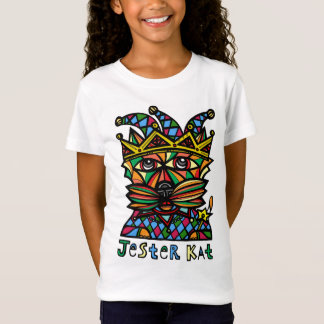 "Camiseta Do ""O t-shirt das meninas do Kat bobo da corte"""