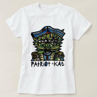 """Camiseta Do """"O t-shirt das mulheres do Kat patriota"""""""