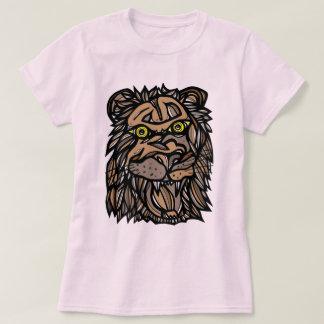 """Camiseta Do """"O t-shirt das mulheres do rugido leão"""""""