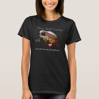 Camiseta Do país com amor - t-shirt de Amish