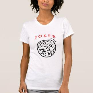 Camiseta do palhaço do Mah Jongg