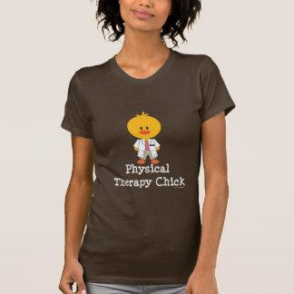 Camiseta do pintinho da fisioterapia